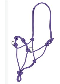 rope halter for horse